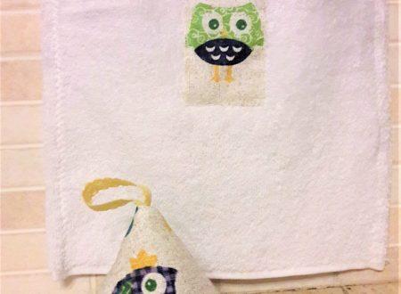 Asciugamani per cucina con presina